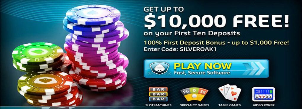Be a Winner at Silver Oak Casino With Their Exciting Slots Bonus