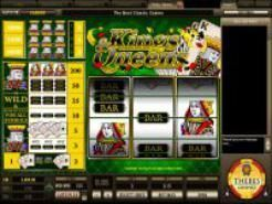 Play Kings and Queens Slots now