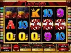 Play Lady in Red Slots now!